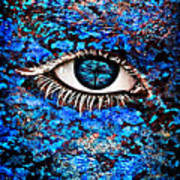 Eyelash  Poster by Yosi Cupano