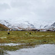 Eyjafjallajokull Iceland Poster
