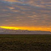 Eyjafjallajokull Sunrise Iceland Poster