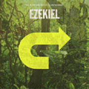 Ezekiel Books Of The Bible Series Old Testament Minimal Poster Art Number 26 Poster