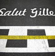 F1 Circuit Gilles Villeneuve - Montreal Poster