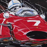 F1 Surtees Ferrari 1964 Poster