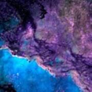 Purple Nebula Poster