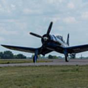 F4u-4 Corsair Airplane 30 Poster