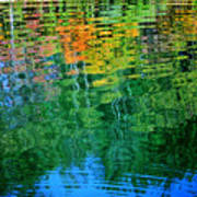 Fabian Pond Reflections3 Poster