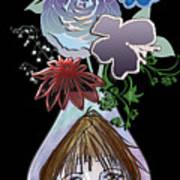 Face Vase Poster
