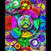 Faces Of Time 1 Poster