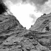 Facing Rock Poster