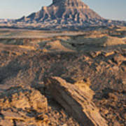 Factory Butte 0768 Poster