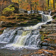 Factory Falls - Childs State Park Poster