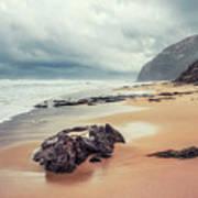 Fade Into The Ocean Poster