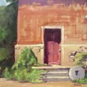 Faded Door Poster