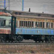 Faded Glory - B And O Railroad Car Poster