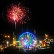 Fair Fireworks Poster