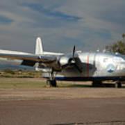 Fairchild Flying Boxcar N15501 Buckeye Arizona Poster
