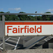 Fairfield Train Station  Poster