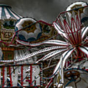 Fairground Rides Poster