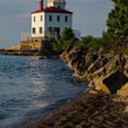 Fairport Harbor Lighthouse Panoramic Poster