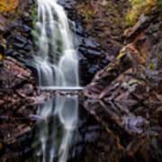 Fall At Fall River Falls Poster