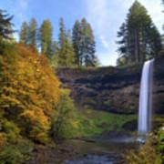 Fall Colors At South Falls Poster