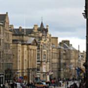 Fall Day In Edinburgh Poster