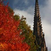 Fall In Garden City Ny. Poster