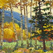 Fall In The San Juans Poster by Susan McCullough