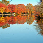 Fall Morning In East Lyme 1 Poster