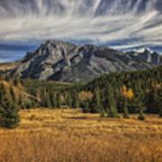 Fall Mountain Poster