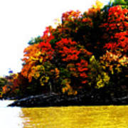 Fall On Grand Lake Poster