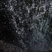 Falling Cavern Cascade Watkins Glen Poster