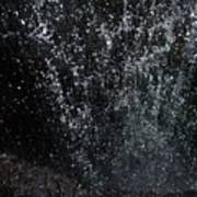 Falling Cavern Cascade Watkins Glen Poster by InTheSane DotCom