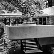 Fallingwater Frank Lloyd Wright Architecture  Poster
