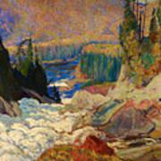 Falls - Montreal River Poster