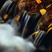 Falls Of Autumn Poster