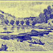 Falls Of The Schuylkill And Fort St Davids 1794 Poster