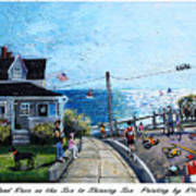 Falmouth Road Race 2015 Poster