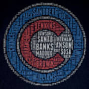 Famous Chicago Cubs Poster