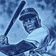 Famous Jackie Robinson Poster
