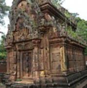 Famous Temple Banteay Srei Cambodia Asia  Poster