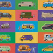 Famous Vans Poster