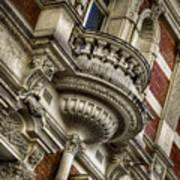 Fancy Balcony Poster