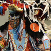 Pow Wow Fancy Dancer 1 Poster