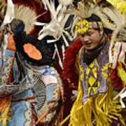 Pow Wow Fancy Dancers 7 Poster
