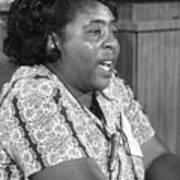 Fannie Lou Hamer (1917-1977) Poster