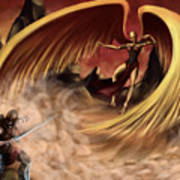 Fantasy Battle Poster