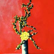 Fantasy Flowers Still Life #162 Poster