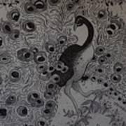 Fantasy Peacock Poster
