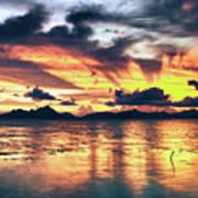 Fantasy Sunset Poster