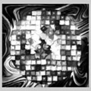 Fantasy Tiles Abstract Poster